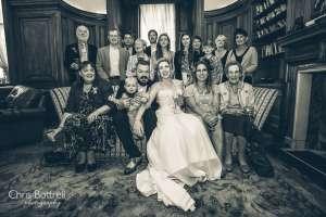 Vintage Wedding St Giles House Hotel