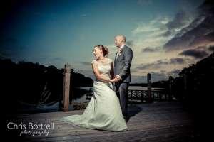 Boathouse wedding venue