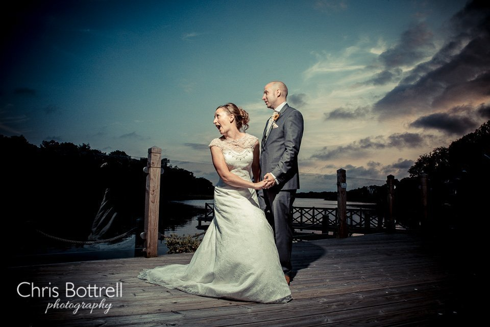 Boathouse wedding venue