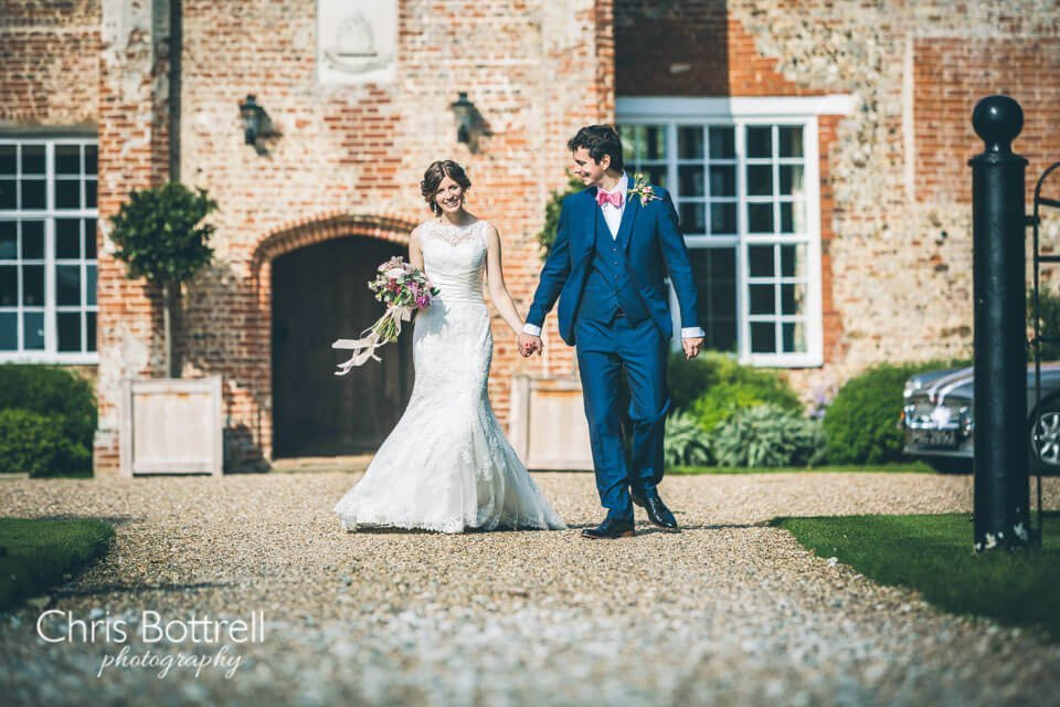 Bruisyard Hall Wedding Photo