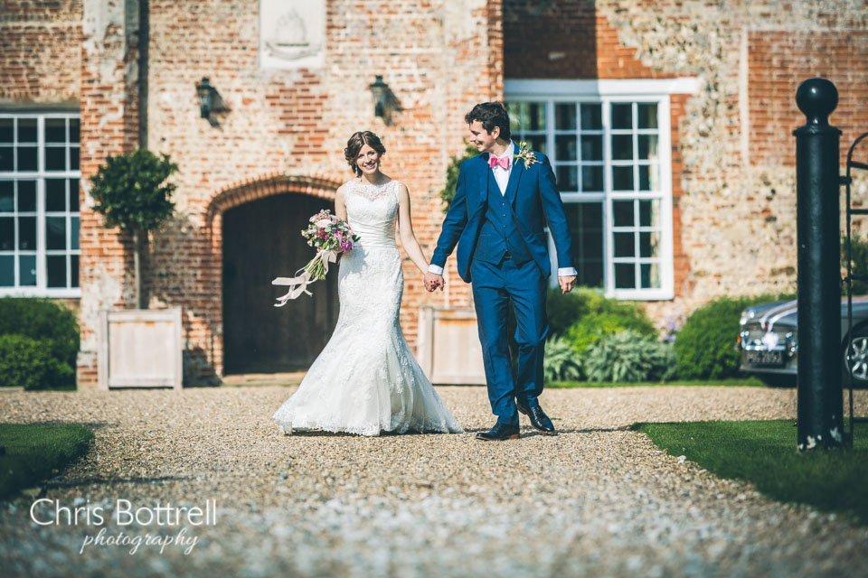Bruisyard Hall Wedding photographer