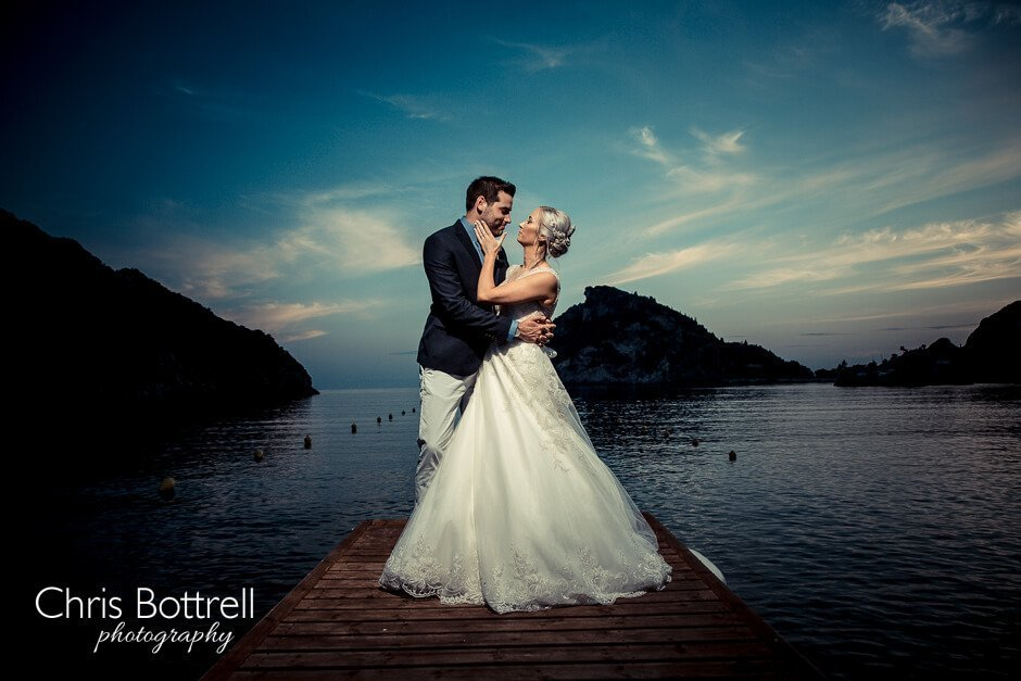 Wedding photographer corfu