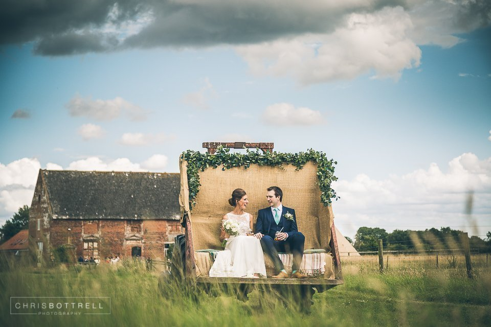 Godwick great barn wedding photo