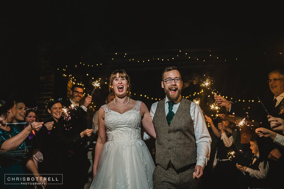 Hautbois hall winter wedding